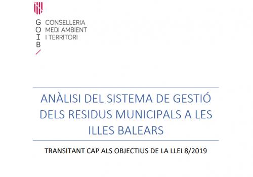 Anàlisi Gestió residus municipals